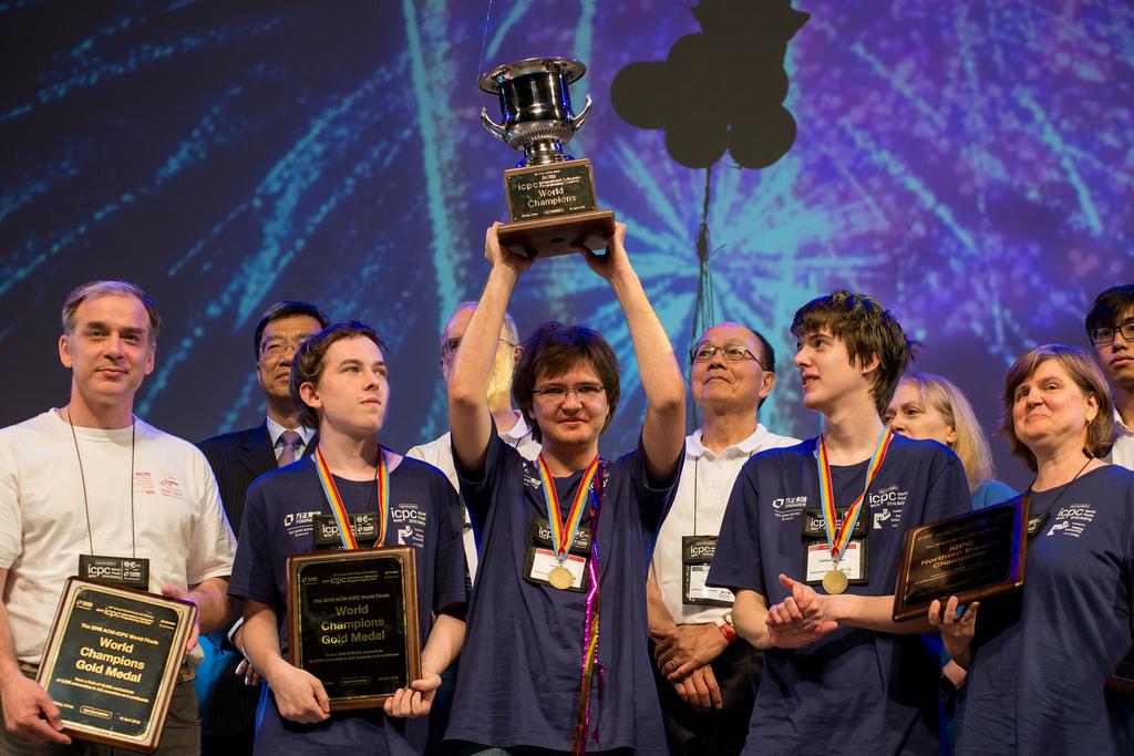 Команда МГУ выиграла чемпионат мира по программированию ICPC 2018