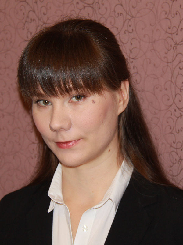 Ведюшкина Виктория Викторовна – лауреат премии Правительства Москвы молодым ученым за 2019 год