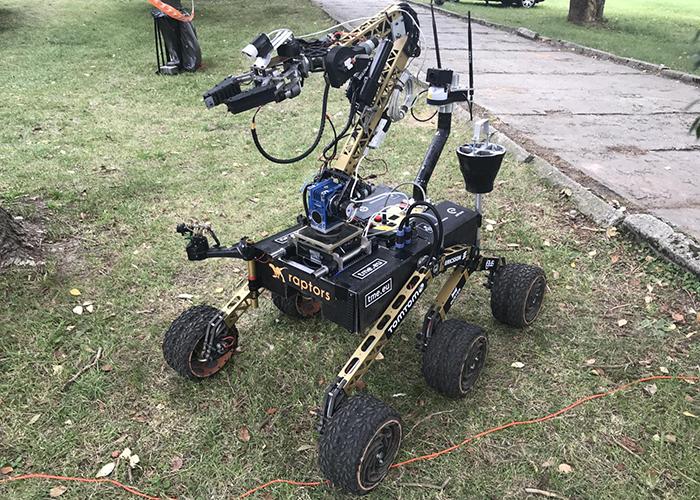 Первая Российская команда на международных робототехнических соревнованиях European Rover Challenge